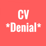 Are You In CV Denial?